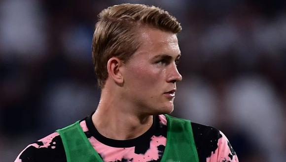 Matthijs de Ligt tiene contrato con Juventus hasta mediados del 2024. (Foto: AFP)