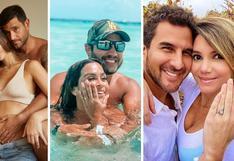 Ethel Pozo y Julián Alexander: Conoce más parejas que se comprometieron con poco tiempo de noviazgo