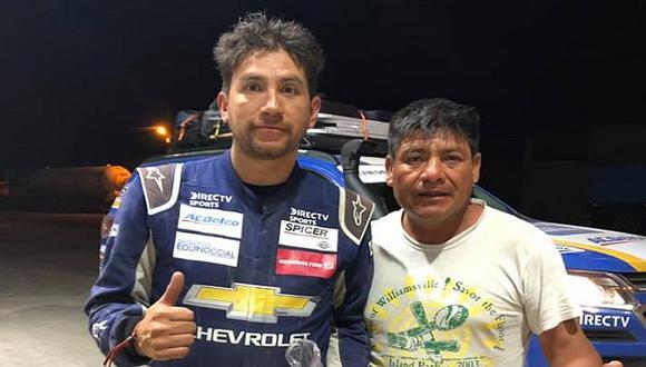 Dakar 2019: Piloto ecuatoriano agradeció noble gesto de ciudadano arequipeño