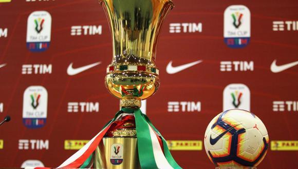 Copa Italia se volverá a jugar entre el 12 y 13 de junio