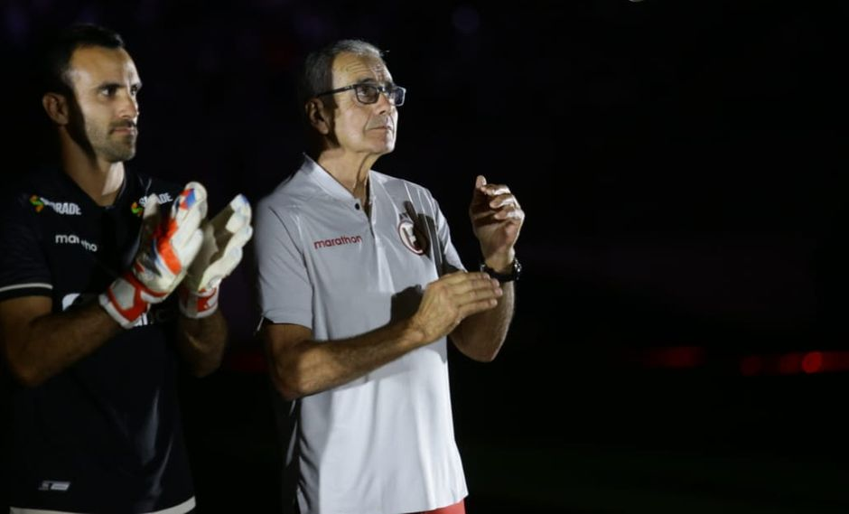 Gregorio Pérez, confía que Universitario de Deportes llegará en óptimas condiciones al choque contra Carabobo. (Foto: Leandro Brito / GEC)