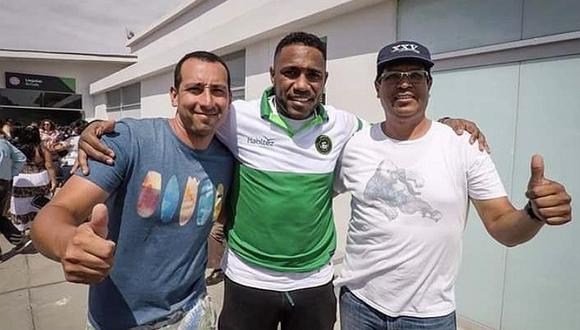 Luis Tejada llegó a Chiclayo para sumarse a los trabajos de Piratas FC