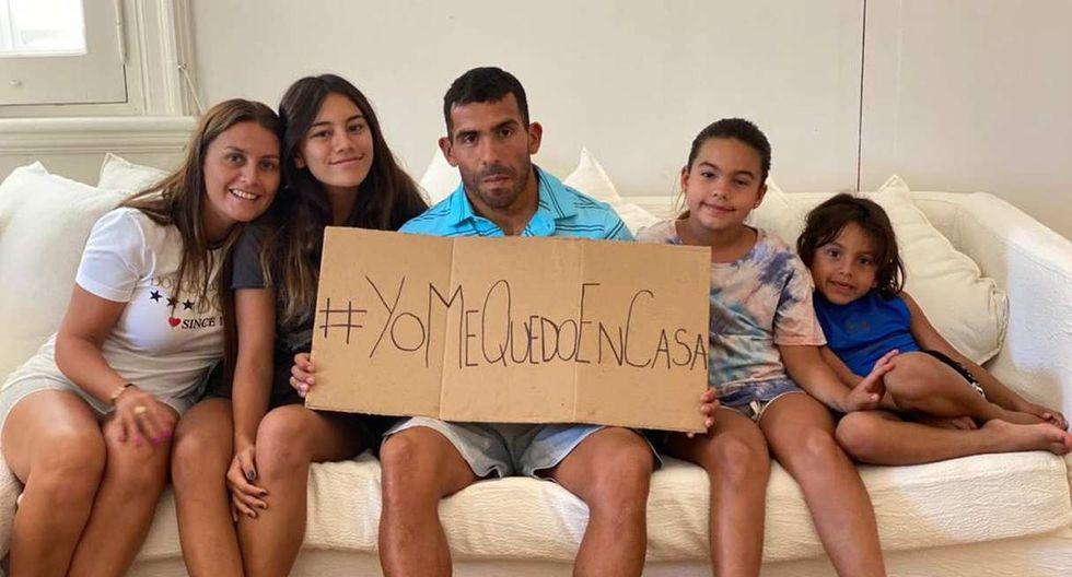 El mensaje de Carlos Tevez sobre las consecuencias del coronavirus. (Foto: @DegoTevez)