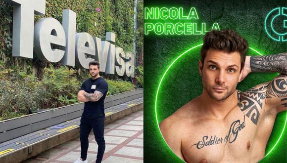 """Nicola Porcella tuvo un debut accidentado en el reality mexicano """"Guerreros 2020"""". (Foto: Instagram)"""