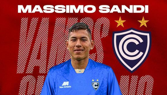 Massimo Sandi fue parte de la selección peruana que participó del Sudamericano Sub 17 del 2019. (Imagen: Twitter))