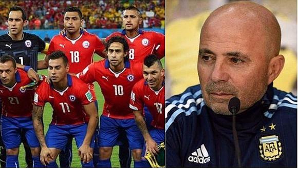 Sampaoli predijo la eliminación de Chile por estos fuertes motivos