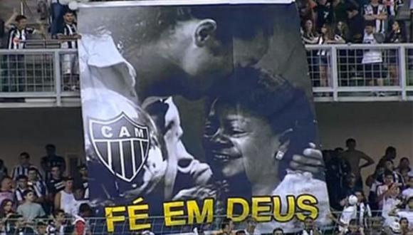 Madre de Ronaldinho atraviesa un complicado momento de salud (Foto: @atletico)