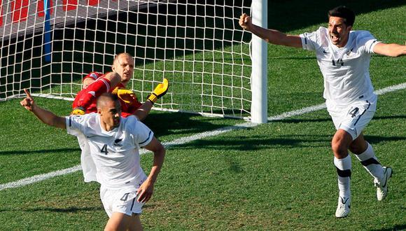 Nueva Zelanda empató 1-1 con Eslovaquia