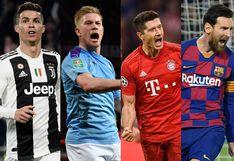 Champions League 2019-20 EN VIVO; Octavos de final: mira la programación online y por TV