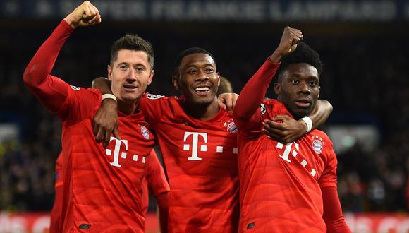 ➤ Chelsea pierde 0-3 ante Bayern Munich EN VIVO vía Fox Sports por la UEFA Champions League en Stamford Bridge (Photo by Glyn KIRK / AFP)