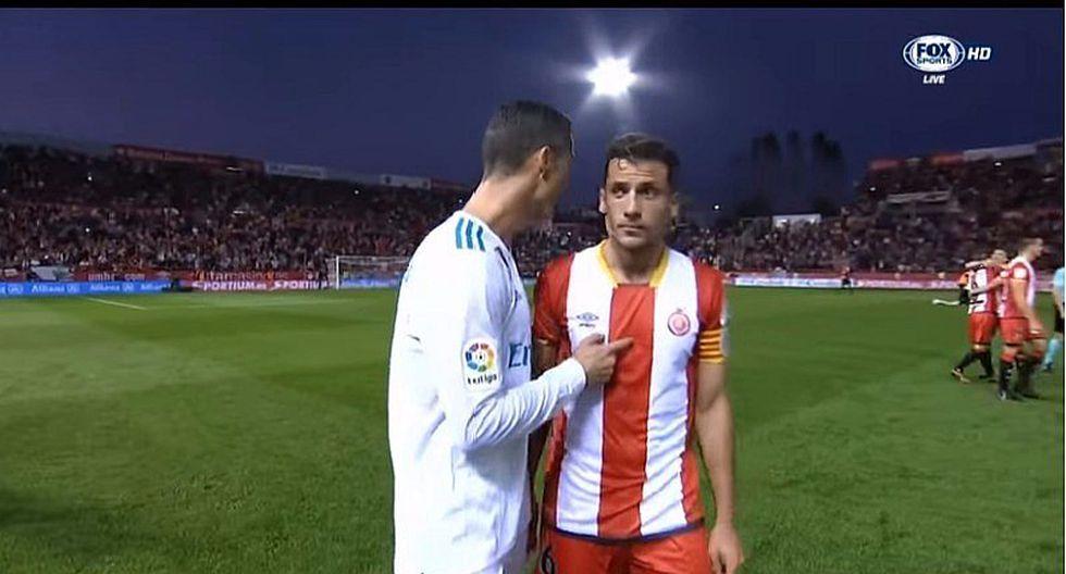 Cristiano Ronaldo no quiso cambiar camiseta con rival que le ganó [VIDEO]