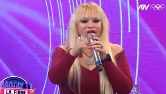 """Susy Díaz fue """"cancelada"""" en redes sociales por sus machistas comentarios contra una víctima de violencia. (Foto: Captura ATV)."""