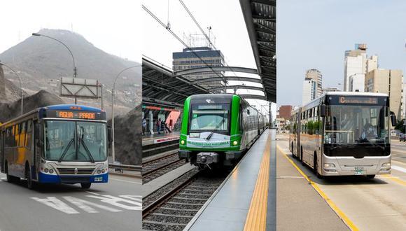 ¿Qué hacer en caso de sismo si te encuentras en la Línea 1, el Metropolitano o un Corredor Complementario?  Foto: ATU