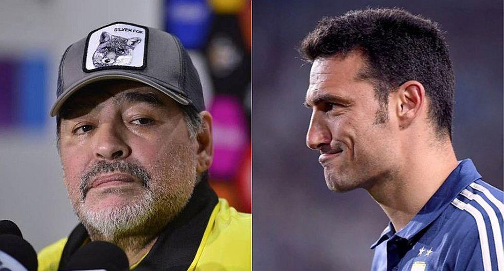 """Maradona destroza a DT de Argentina: """"No puede dirigir ni el tránsito"""""""