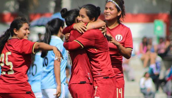 Universitario de Deportes y Amazon Sky se medirán en la final del fútbol femenino   Foto Jair Vázquez
