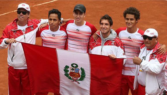 Copa Davis: equipo peruano se prepara para enfrentar a Ecuador