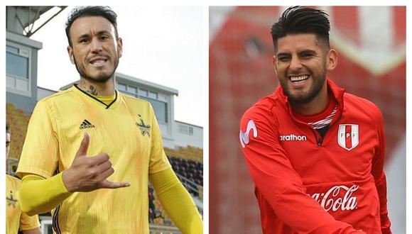 Gustavo Dulanto y Carlos Zambrano, dos presentes distintos: uno disputa la Champions League y el otro es suplente en Boca Juniors.