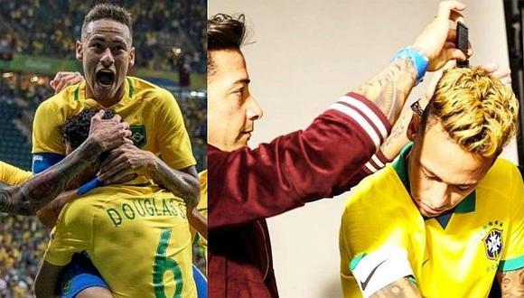 Neymar posa con camiseta oficial para Copa América Brasil 2019