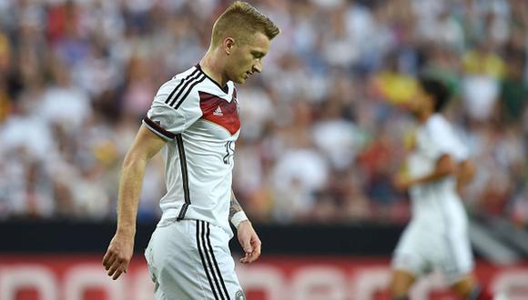 Marco Reus no jugará la Eurocopa, según publicó el jugador en su cuenta de Instagram (Foto: Getty Images)