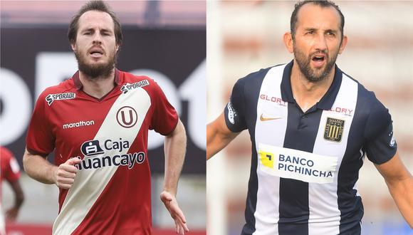 Hernán Novick y Hernán Barcos son los más determinantes en sus equipos y este miércoles se verán las caras en su primer clásico en el Perú