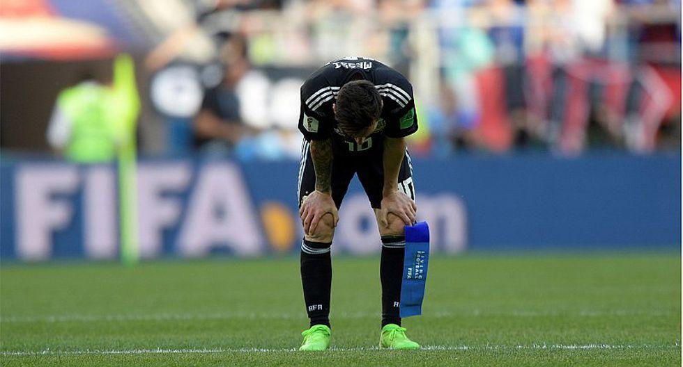 "Lionel Messi: ""Me siento responsable del empate"""