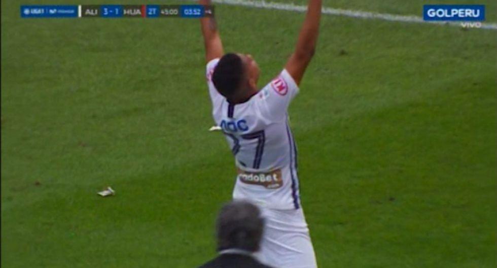 Kevin Quevedo puso el 3-1 de Alianza Lima sobre Sport Huancayo con un golazo | VIDEO