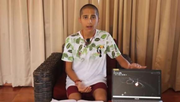Abhigya Anand, el niño que predijo la pandemia