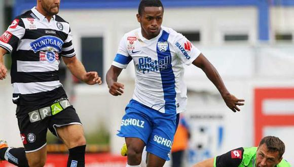 Leipzig de Yordy Reyna cayó ante Ingolstadt en duelo de peruanos