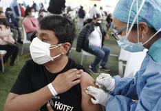 Vacunación COVID-19: más de siete millones 467 mil de peruanos ya fueron inmunizados