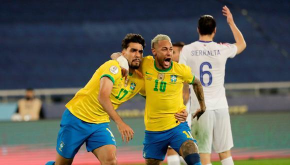 Brasil derrotó 1-0 a Chile y enfrentará a Perú en semifinales de la Copa América