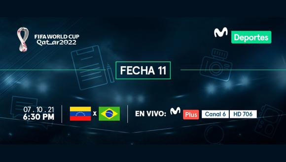 Venezuela vs. Brasil EN VIVO | ONLINE | EN DIRECTO el partido de la jornada 11 de las Eliminatorias Qatar 2022 en el estadio Olímpico de la Universidad Central de Venezuela