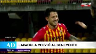 Gianluca Lapadula se sumó a la pretemporada del Benevento mientras define su futuro