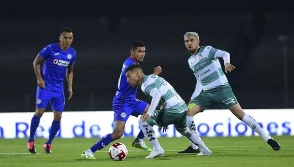 Cruz Azul vs. Santos Laguna chocan por la final de la Liguilla MX. (Foto: Twitter)