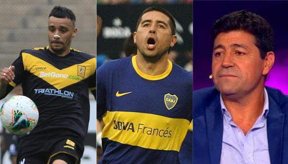 """Patricio Arce hizo un lujo durante el duelo entre Cantolao y Sport Huancayo y el """"Checho"""" Ibarra lo elogió."""