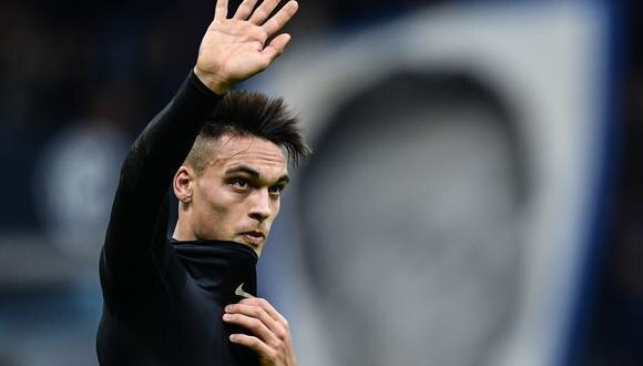 La cláusula de rescisión de Lautaro Martínez con el Inter es de 111 millones de euros. (Foto: AFP)