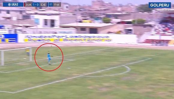 Juan Aurich vs. Cienciano: revive el golazo de Jair Córdova desde la media cancha en la Liga 2   VIDEO