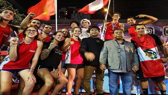 Cuatro peruanos se consagraron campeones mundiales de Muay Thai en Taliandia