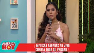 """Melissa Paredes se asombró por reacción de Rodrigo Cuba: """"Este momento no me lo esperé"""""""