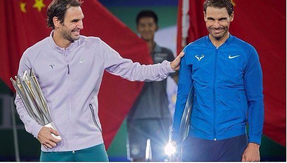 Roger Federer volvió a ganarle a Rafael Nadal