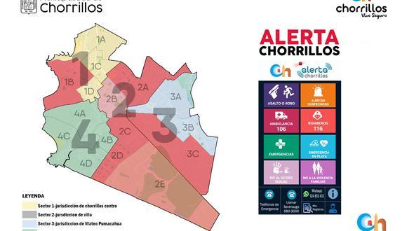 Lanzan aplicativo 'Alerta Chorrillos' para una respuesta inmediata ante asaltos, robos y otras emergencias. (Municipalidad de Chorrillos)