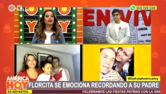 Ethel Pozo llora en vivo al recordar el gran gesto que Augusto Polo Campos tuvo con Gisela Valcárcel. (Foto: Captura de video)