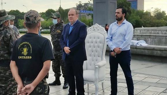 Candidato de Renovación Popular desestimó que Antauro Humala participe en esa alianza. (Foto: Twitter)