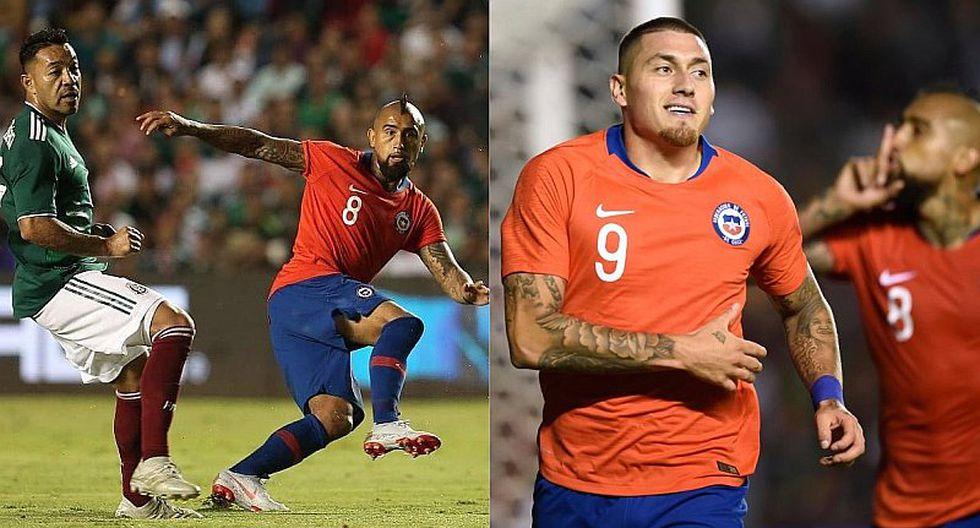 Arturo Vidal se burló de hinchas mexicanos tras gol triunfal de Chile