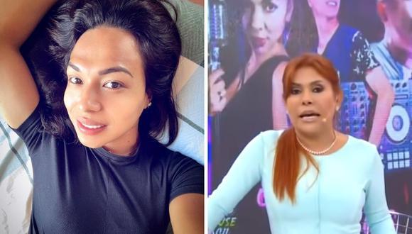 """Magaly Medina critica a Dayanita por realizar """"privaditos"""" en la selva aún cuando tiene un trabajo en ATV. (Foto: Captura ATV / Instagram @dayanita_show)"""