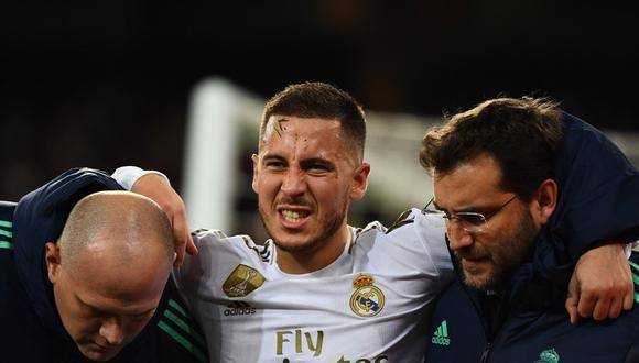 Eden Hazard se perderá un nuevo partido por lesión. (Foto: AFP)