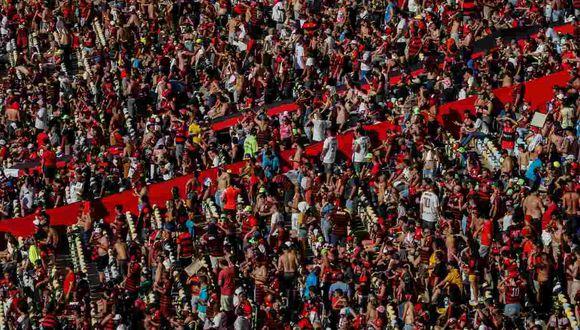 Hinchas de Flamengo adquirieron todas las entradas asignadas para la final de la Copa Libertadores. (Foto: EFE)