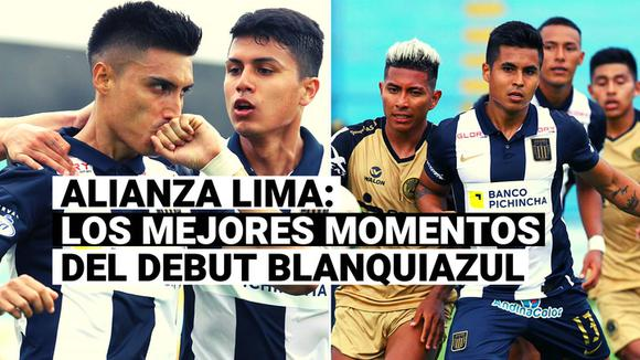 Allianz Lima: Review the best moments of Blue & White's debut in League 1