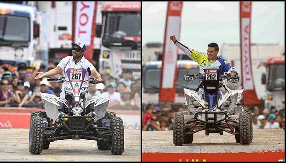 Dakar 2019: Christian Málaga y Emilio Choy en el Top 20 de la segunda etapa