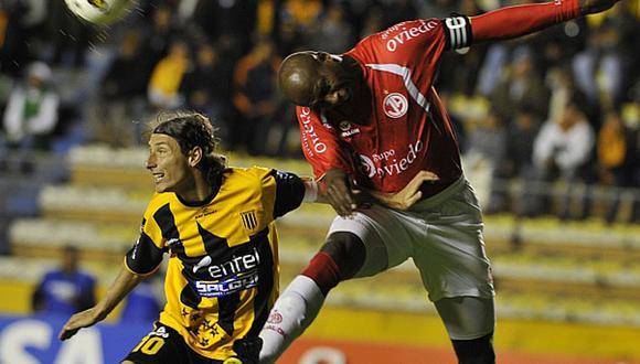 Lo logró: Juan Aurich se impuso 1-0 a The Strongest en la Copa Libertadores