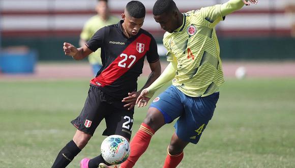Perú 1-0 Colombia | Selección peruana Sub 23 venció a 'cafeteros' con golazo de Kevin Quevedo